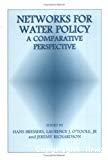 Networks for water policy: a comparaive perspective