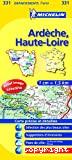 Carte Michelin, Ardèche - Haute-Loire, n°331