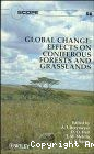 Global change : effects on coniferous forests and grasslands