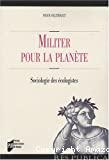 Militer pour la planète