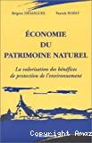 Economie du patrimoine naturel