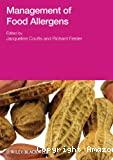 Management of food allergens.