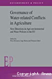 Governance of water-related conflicts in agriculture