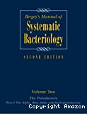 Bergey's manual of systematic bacteriology. Vol. 2 : The proteobacteria. Part B : The gammaproteobacteria.