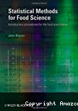 Statistical methods for food science. Introductory procedures for the food practitioner.