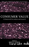 Consumer value. A framework for analysis and research.