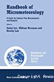 Handbook of micrometeorology