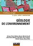 Géologie de l'environnement