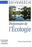 Dictionnaire de l'écologie.