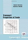 Transport properties of foods.