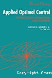 Applied optimal control. Optimization, estimation, and control.