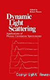 Dynamic light scattering. Applications of photon correlation spectroscopy.