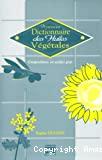 Nouveau dictionnaire des huiles végétales. Composition en acide gras.