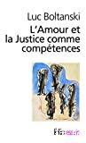 L' amour et la justice comme compétences
