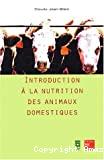 Introduction à la nutrition des animaux domestiques
