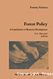 Forest policy : a contribution to resource development.
