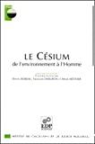 Le césium