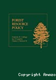 Forest resource policy.