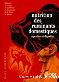 Nutrition des ruminants domestiques