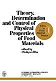 Theory, determination and control of physical properties of food materials.