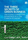 The three secrets of green business