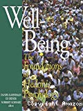 Well-being : the foundations of hedonic psychology.