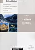 Habitats rocheux