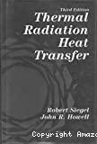 Thermal radiation heat transfer.
