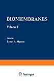 Biomembranes. (2 Vol.) - Symposium on membranes and coordiantion of cellular activities (05/04/1971 - 08/04/1971, Gatlinburg, Etats-Unis) Vol. 1.