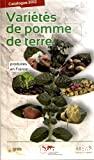 Variétés de pomme de terre produites en France