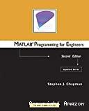 Matlab programming for engineers.