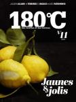 180°C, n° 11 - hiver 2018 - Jaunes & jolis