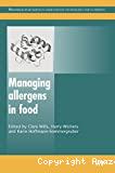 Managing allergens in food