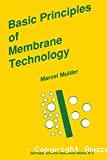 Basic principles of membrane technology.