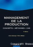 Management de la production. Concepts. Méthodes. Cas.