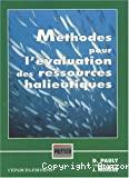 Méthodes pour l'évaluation des ressources halieutiques