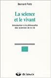 La science et le vivant