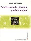 Conférences de citoyens, mode d'emploi
