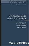 L' instrumentation de l'action publique
