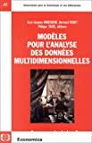 Modèles pour l'analyse des données multidimensionnelles