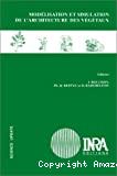 Modélisation et simulation de l'architecture des végétaux