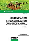 Organisation et classification du monde animal