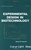 Experimental Design in Biotechnology