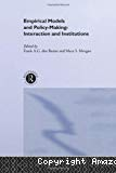 Empirical models and policy-making : interaction and institutions