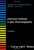 Chemical methods in gas chromatography.
