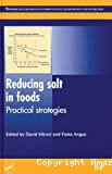 Reducing salt in foods. Practical strategies.