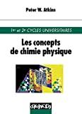 Les concepts de chimie physique.