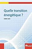 Quelle transition énergétique ?
