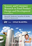 Sensory and consumer research in food product design and development