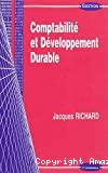Comptabilité et développement durable
